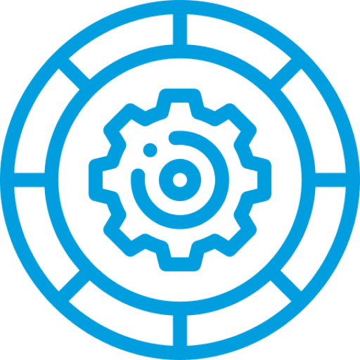 Process and strategy icon